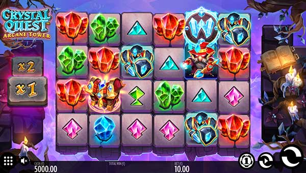 Crystal Quest Arcane Tower videoslot