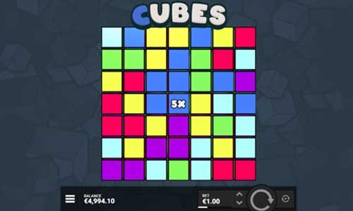 Cubes videoslot
