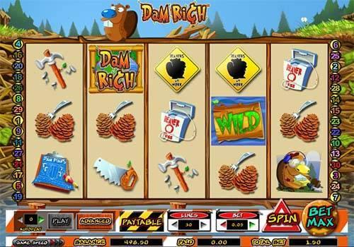Dam Rich casino slot