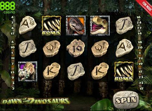 Dawn of the Dinosaurs slot
