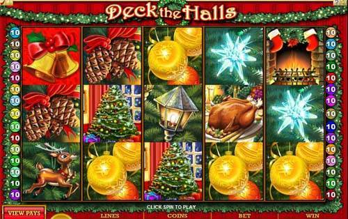 Deck the Halls videoslot