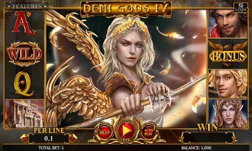 Demi Gods IV videoslot