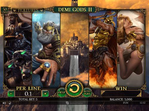 Demi Gods II slot