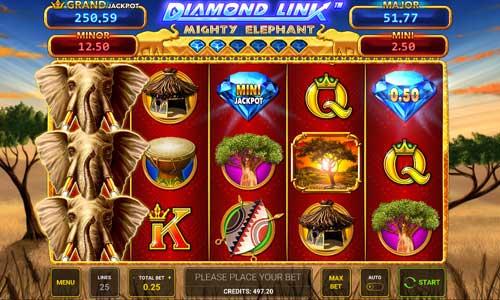 Diamond Link Mighty Elephant slot