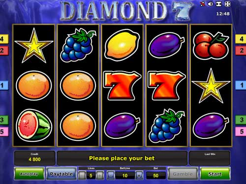Diamond 7 free slot