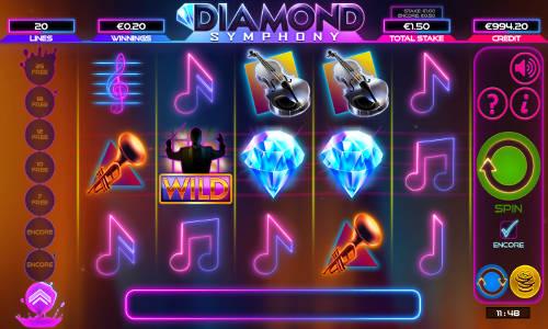 Diamond Symphony videoslot