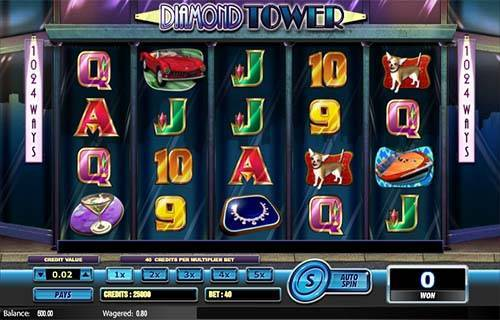 Diamond Tower videoslot