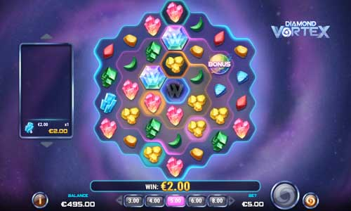 Diamond Vortex videoslot