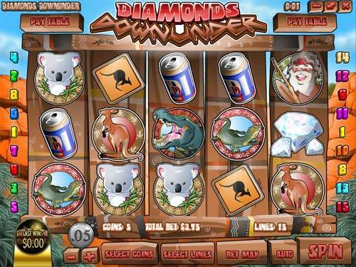 Diamonds Downunder slot