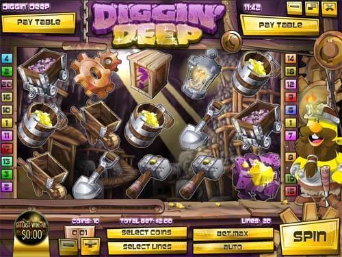 Diggin Deep free slot