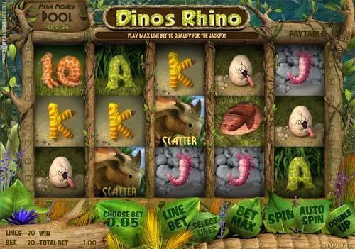 Dinos Rhino slot