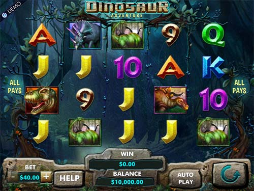 Dinosaur Adventure casino slot