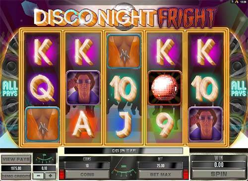 Disco Night Fright slot