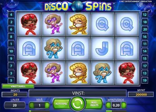 Disco Spins videoslot