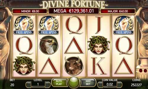 Divine Fortune videoslot