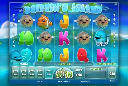Dolphins Island slot
