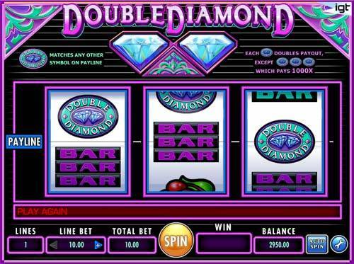 Double Diamond videoslot