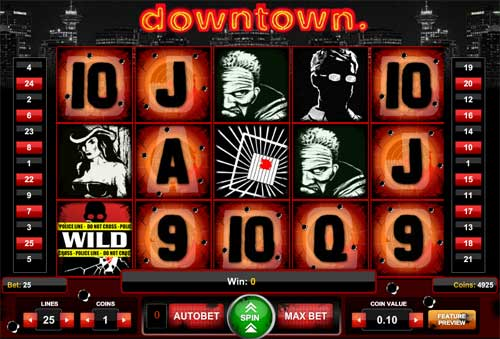 Downtown slot
