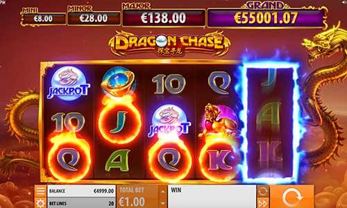 Dragon Chase videoslot