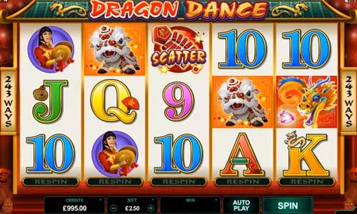 Dragon Dance videoslot