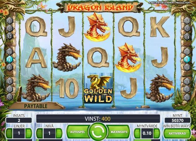 Dragon Island free slot