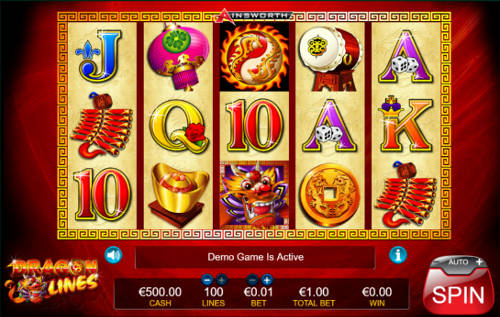 Dragon Lines free slot