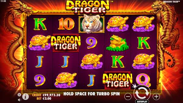 Dragon Tiger videoslot