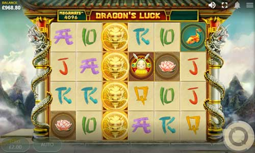 Dragons Luck Megaways videoslot