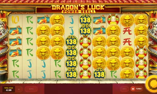 Dragons Luck Power Reels videoslot