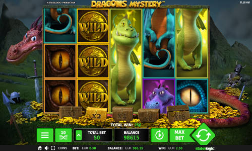 Dragons Mystery free slot