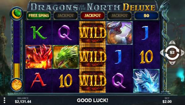 Dragons of the North Deluxe videoslot