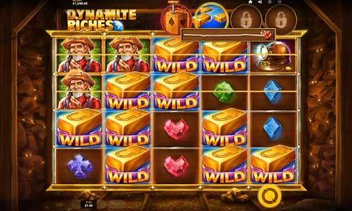 Dynamite Riches videoslot