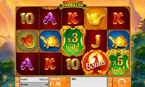 Eastern Emeralds free slot
