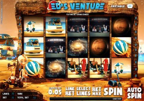 Eds Venture videoslot