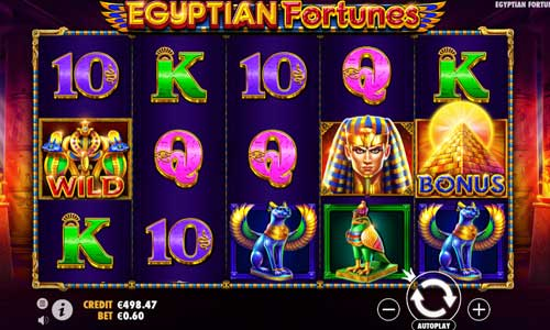 Egyptian Fortunes videoslot