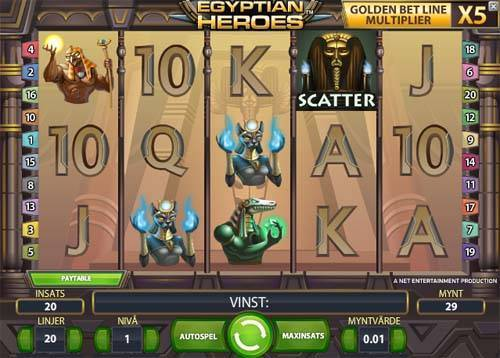 Egyptian Heroes free slot