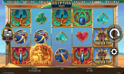 Egyptian Pays videoslot