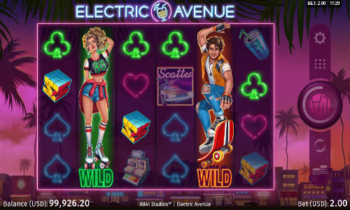 Electric Avenue videoslot