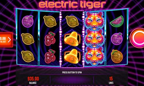 Electric Tiger videoslot