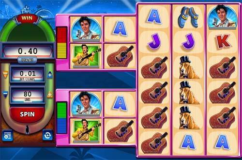 Elvis the King Lives free slot