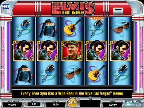 Elvis The King videoslot