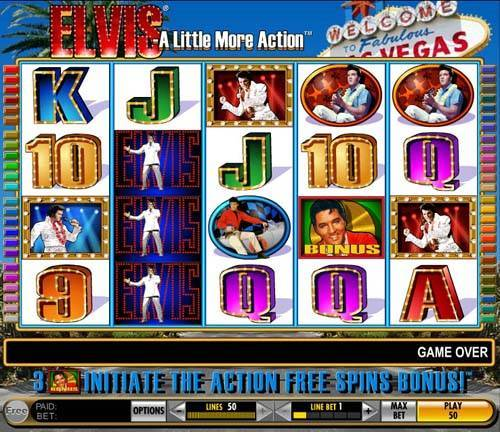 Elvis - A Little More Action slot