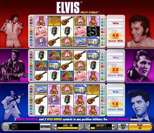 Elvis - Multistrike casino slot
