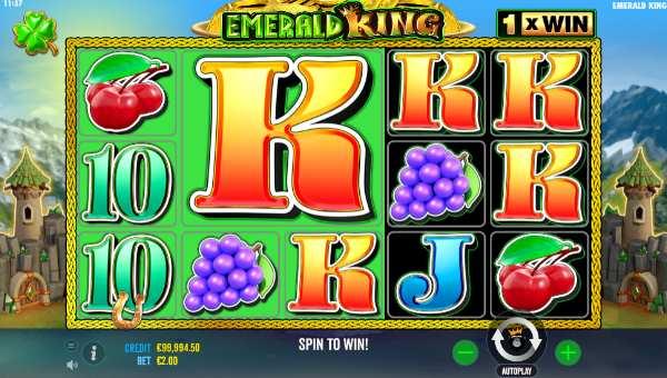 Emerald King videoslot