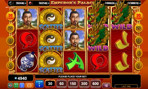 Emperors Palace videoslot