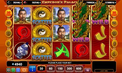 Emperors Palace videoslot