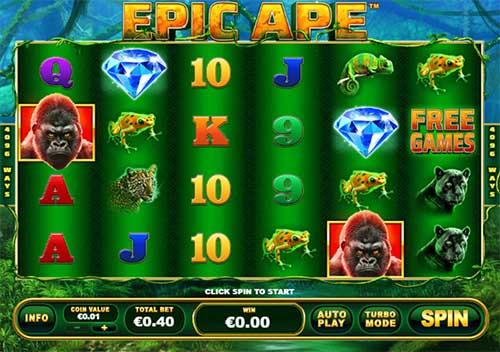 Epic Ape videoslot