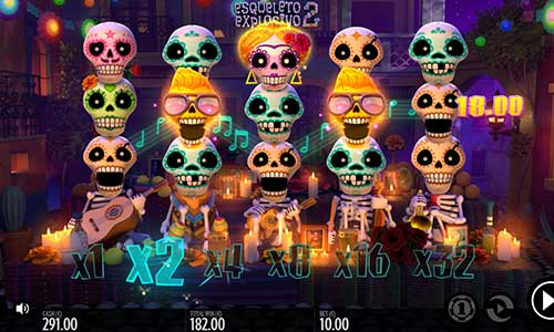 Esqueleto Explosivo 2 videoslot