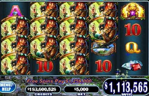 Exotic Treasures casino slot