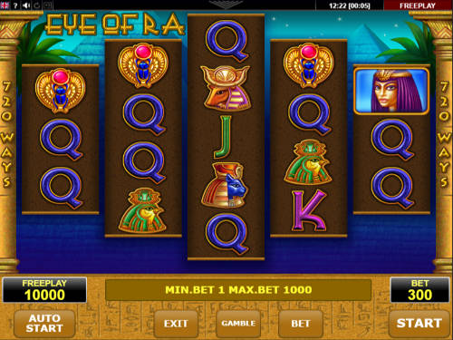 Eye of Ra free slot